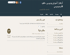 دانلود پوسته واکنش گرا و فارسی شده designfolio برای وردپرس