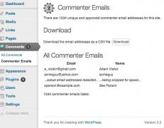 جمع آوری ایمیل نظر دهندگان در وردپرس – گرفتن پشتیبان از ایمیل کاربران