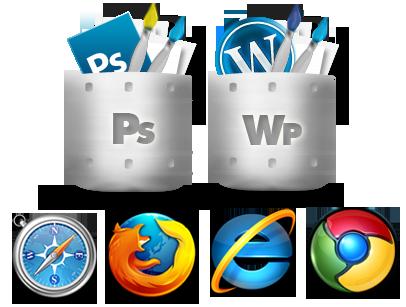 کدنویسی قالب وردپرس - تبدیل psd به وردپرس